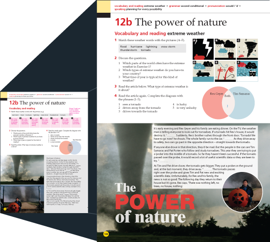 National Geographic & Cengage Learning Life Layout 2